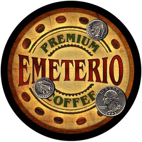 Emeterio Coffee Custom Neoprene Don't miss the campaign Rubber 4 latest - pcs Drink Coasters