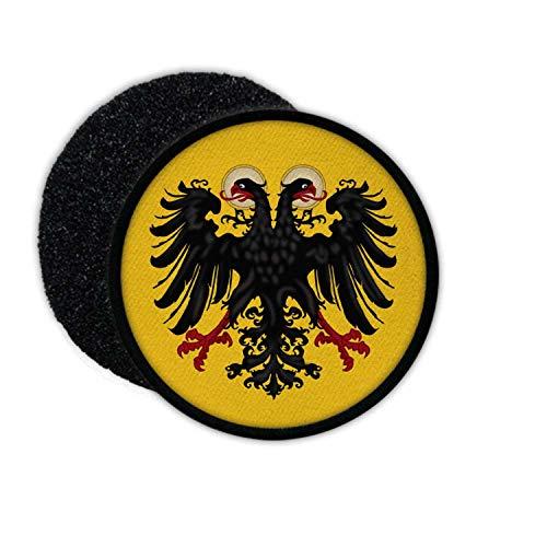 Copytec Patch Heiliges Römisches Reich Deutscher Nation Deutschland Mittelalter Wappen Adler Fahne Abzeichen Emblem #24056