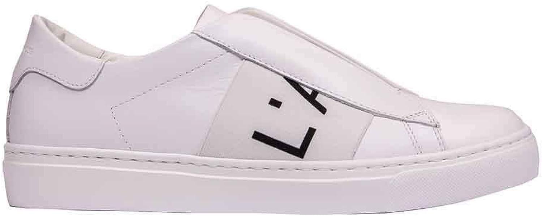 L'AUTRE L'AUTRE L'AUTRE CHOSE Woherrar OSJ26320GG279G36 vit läder skor  till lägsta pris