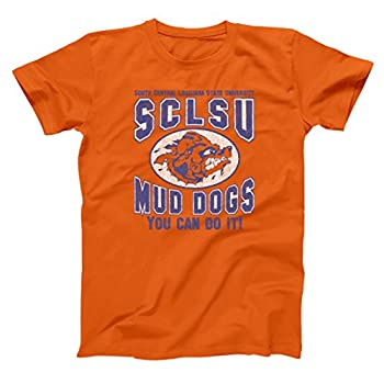 Donkey Tees You Can Do It SCLSU Mud Dogs Funny Football Movie Mens Shirt XXX-Large Orange