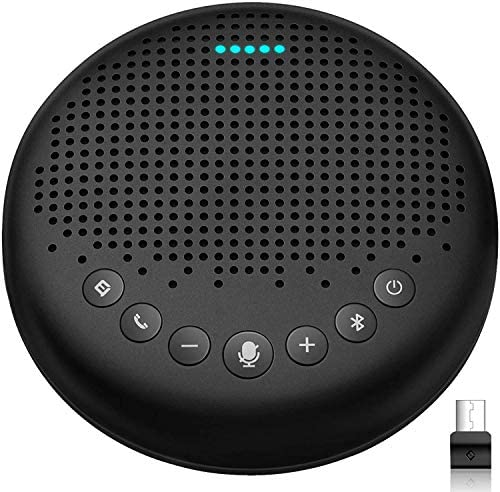 Bluetooth Speakerphone Luna Computer Speakers with Microphone w Enhanced Noise Reduction Algorithm product image
