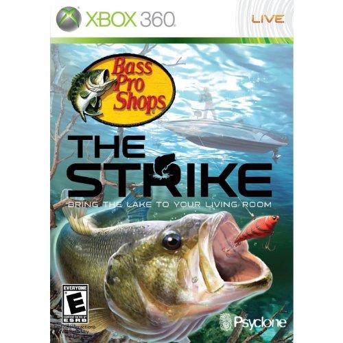 Bass Pro Shops: The Strike Bundle with Fishing Rod -Xbox 360
