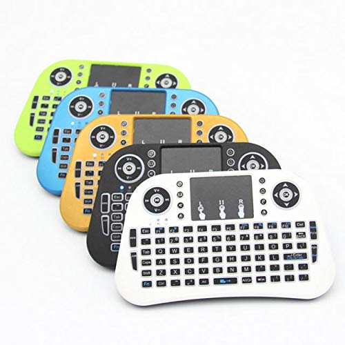 LTH-GD Relais 2,4 g Trois Couleurs Backlit sans Fil Mini Clavier TouchPad commutateur de Relais WiFi (Color : Black)