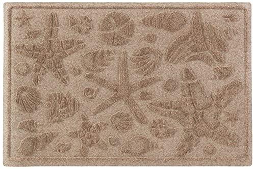 AquaShield Beachcomber Doormat, 2' x 3', Camel