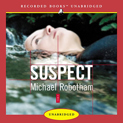 Suspect audiobook cover art