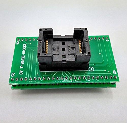 SETCTOP TSOP48 to DIP48 Socket Adapter,Genuine Xeltek TSOP48 TO DIP 48 TSOP 48 USB programmer Adapter Socket