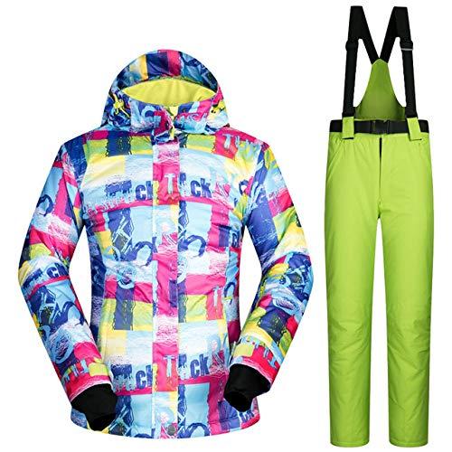 Meobhi skipak voor vrouwen, snowboard-combinaties, sneeuwkleding, waterdicht, winddicht, outdoor-sport, jas en broek, skipak