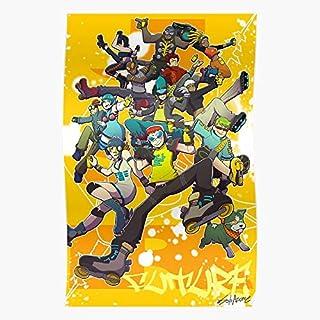 kineticards Set Jet Rhyth Radio Future JSR Beat Jsrf Jgr Grind | Home Decor Wall Art Print Poster