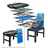 [page_title]-DEMA Multigame Spieltisch Spieletisch 14 in 1 Tischfußball Kicker Tischkicker Billard Basketball Hockey Tischtennis usw.