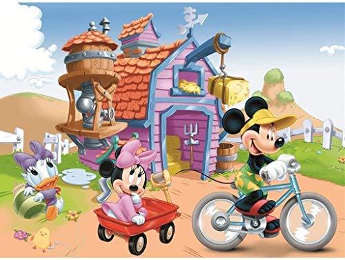 1000 rompecabezas de madera, juegos educativos de dibujos animados de Mickey Mouse para niños, desafían la inteligencia, desarrollan la coordinación ocular,