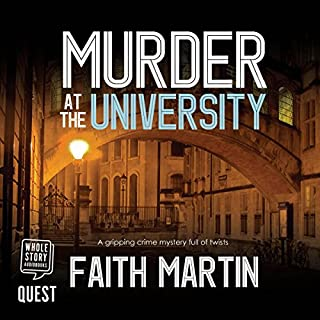 Murder at the University cover art
