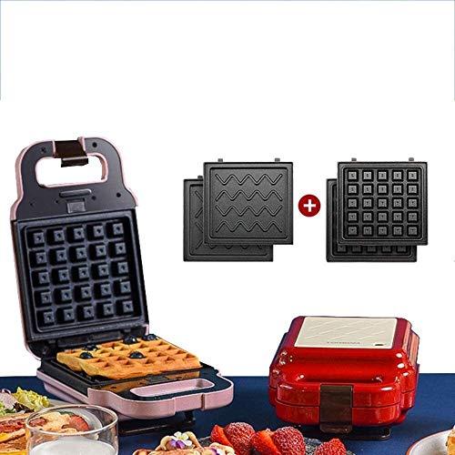 VIWIV Tostadora Máquina para Hacer Rollos de Huevo, tostadora para sándwiches, máquina para Hacer gofres de Llama Abierta, Plancha para Hacer gofres con Parrilla para freír (Tama?o: Style6)