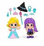 Pinypon - Princesa Y Bruja, Incluye 2 Figuras y Accesorios, para niños y niñas a Partir de 4 años...