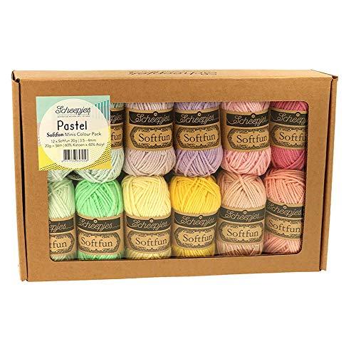 Softfun Colour Pack 12 x 20 g (pastel)