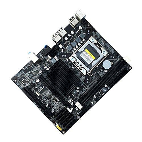 teng hong hui X58 Motherboard 1366 Pin Desktop-Motherboard Mainboard 1366 Unterstützt ECC-Speicher LGA 1366 DDR3 S-ATA II Maximaler Speicher 16 GB