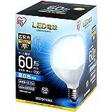 LED電球 E26 広配光タイプ ボール電球 60W形相当 LDG7N-G-6V4 ・LDG7L-G-6V4(567959) アイリスオーヤマ