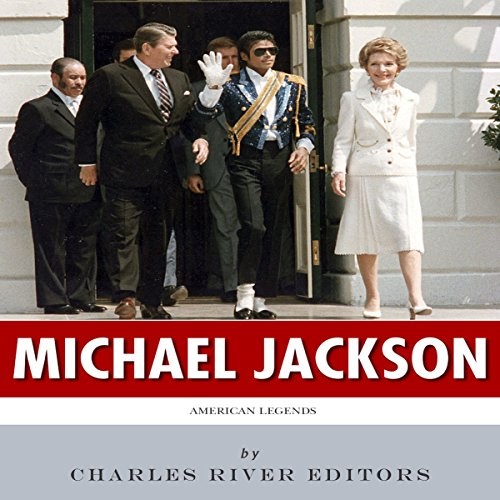 American Legends: The Life of Michael Jackson audiobook cover art