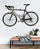 StoreYourBoard Naked Bike Wall Display Mount, Floating Bicycle Storage Rack, Adjustable Home Garage Apartment...