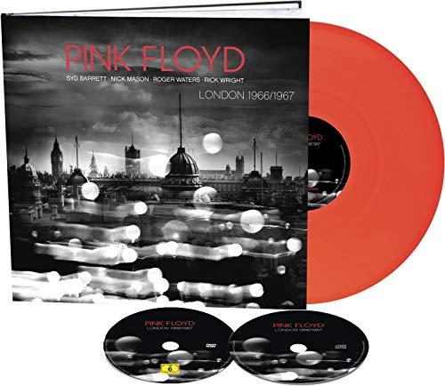 """London 1966 1967 (Box Confezione Digibook Di 36 Pagine Cd+Dvd+Lp 10"""" Neon Orange"""