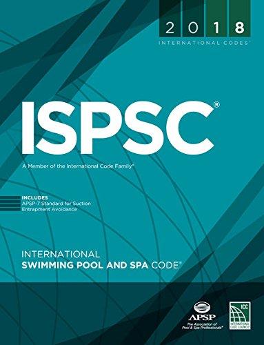 2018 International Swimming Pool and Spa Code (International Code Council Series)