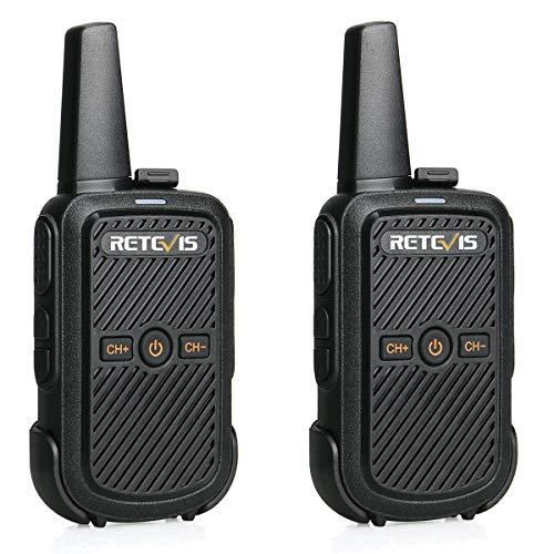 Retevis RT15 Mini Walkie Talkie VOX 16CH 50 CTCSS 208 DCS Anti-interferenza...