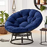 Better Homes & Gardens Papasan Chair with Fabric Cushion (Navy)