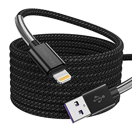 Cable de carga para iPhone 3M, [certificado Apple MFi original] 2 unidades...
