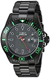 Invicta Men's Pro Diver Quartz Diving Watch with Stainless-Steel Strap, Black, 22 (Model: 23009)