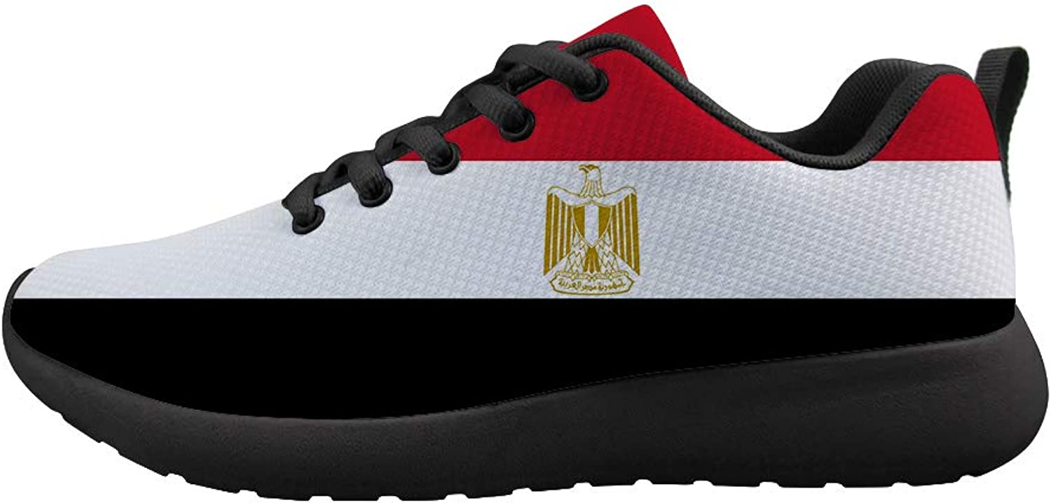 Owaheson Cushioning Sneaker Trail Running shoes Mens Womens Egypt Flag