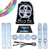 UltraPoi - Helix Poi with UltraKnobs - LED Poi Set - Best Light Up...