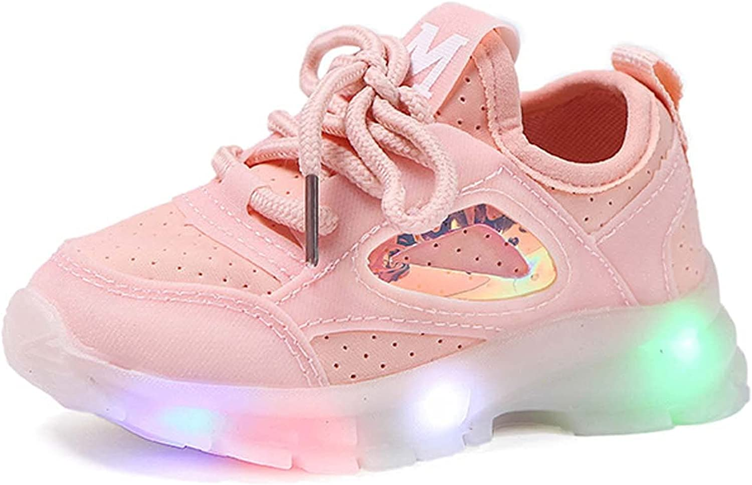 GoodLock(TM) Kids Baby Girls Boys Casual Shoes LED Light Mesh Shoes Lightweight Breathable Sneakers