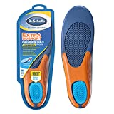 Dr. Scholl's Extra Support Insoles Superior Shock Absorption and Reinforced Arch Support for Big & Tall Men to Reduce Muscle Fatigue So You Can Stay on Your Feet Longer (for Men's 8-14)