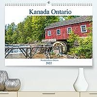 Kanada Ontario - Wunderschoenes Ontario (Premium, hochwertiger DIN A2 Wandkalender 2022, Kunstdruck in Hochglanz): Der Kalender nimmt Sie mit in die wunderschoene und abwechslungsreiche kanadischen Provinz Ontario. (Monatskalender, 14 Seiten )