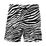 Costumi Uomo Mare 3D Stampato Pantaloncini Da Spiaggia Da Uomo Con Motivo Zebrato Fitness Fitness Costumi Da Bagno Ad Asciugatura Rapida Street Divertenti Divertenti Pantaloncini Con Stampa 3D Summe