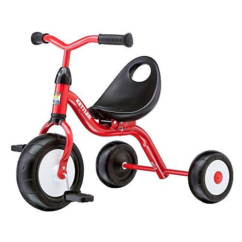 Kettler Dreirad Primatrike Das coole Dreirad KinderDreirad Für Kinder Ab 2 Jahren stabiles Kinderfahrzeug, rot und schwarz