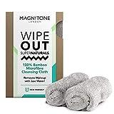 Magnitone ¡WipeOut! Paquete de 2 Toallitas de Microfibra Súper Natural de Bambú 40cm x 17cm -...