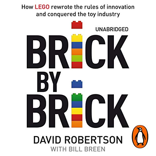 Brick by Brick audiobook cover art