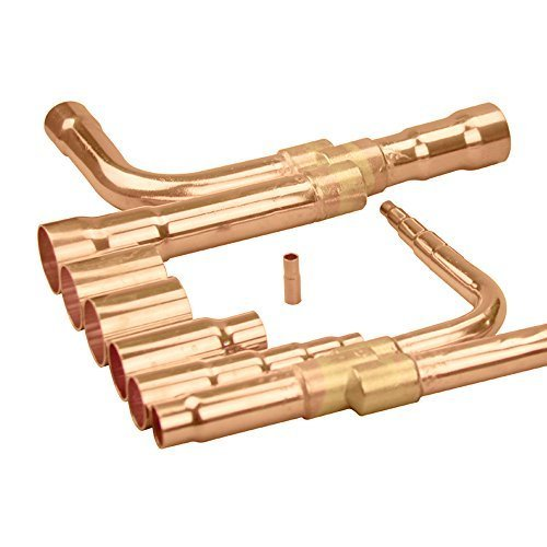 Copper VRV VRF Air Conditioner Y Branch, Y Joint, Branch Piping, Refnet Pipe, Joint Kit,Fitting,Seperation Tube For Hisense, Model HFQ-302F