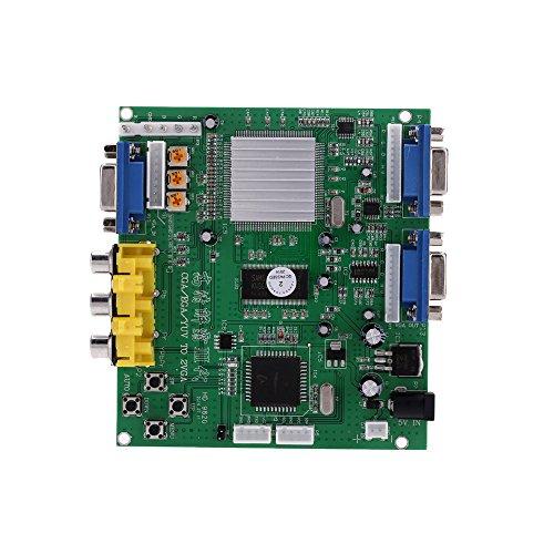 Tragbare Genuine HD-9820 V3.0 HD CGA / EGA / YUVzu VGA (2 * VGA) Arcade Game Video Konverter Vorstands Zwei VGA Ausgang für CRT Monitor LCD Monitor PDPMonitor
