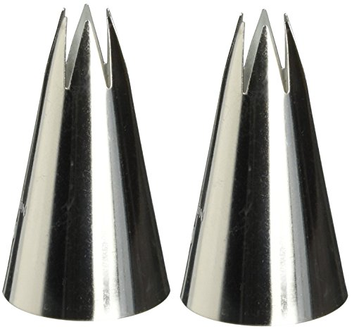 Wilton 402-2110 1M Open Star Piping Tip (2pk)