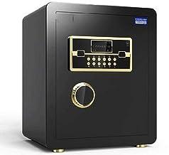JBAMQ Electronic Luxury Digital Safe Deposit Box Keyboard Lock Home Office Hotel Business Jewelry Cash Use Storage Money (...