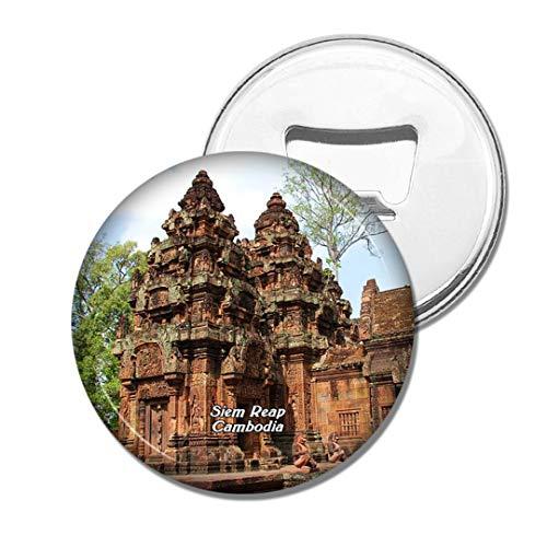 Weekino Kambodscha Banteay Srei Angkor Wat SIEM Reap Bier Flaschenöffner Kühlschrank Magnet Metall Souvenir Reise Gift
