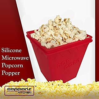 Microwave Popcorn Popper - No Oil Needed - by Capparis Kitchen