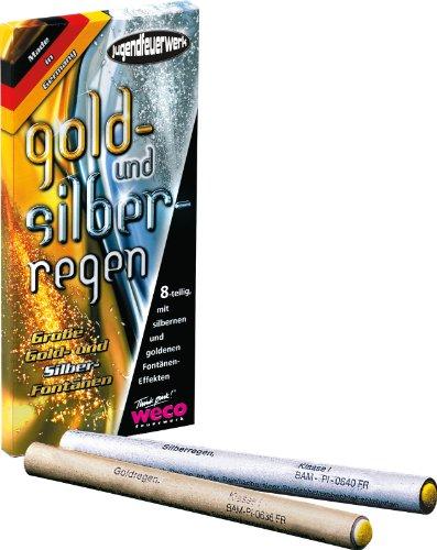 8 Gold und Silberregen