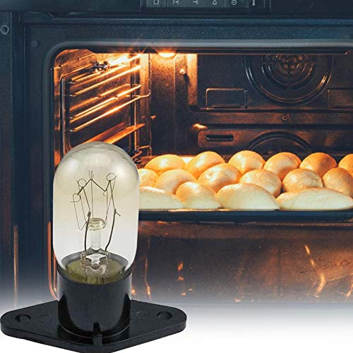 Mikrowellen-Glühbirne, 20 W 220 V Hochtemperaturbeständige Mikrowellenherd-Lampe, Integrierte Lampe Für Herd, Herd-Glühbirne Mikrowellenlampe Für Küchenbeleuchtung