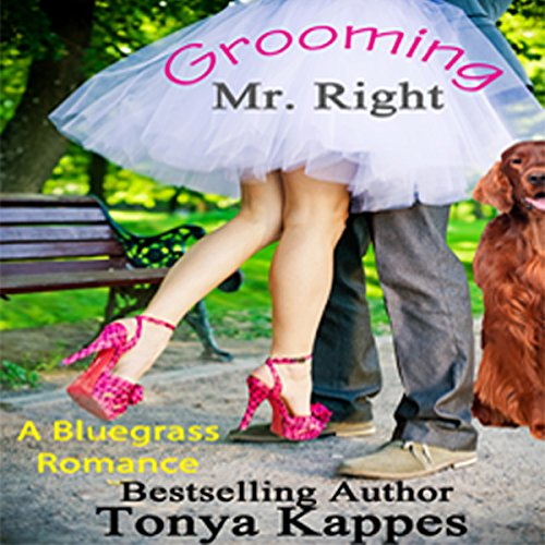 Grooming Mr. Right  audiobook cover art