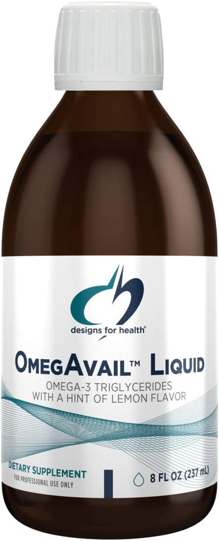 Designs Discount mail order for Health OmegAvail Liquid TG Oil 1200mg Fish Max 54% OFF - Triglyc