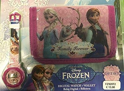 Disney Frozen Reloj y Cartera Set de regalo de Disney Frozen