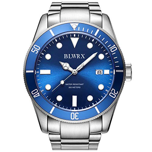 BLWRX 45mm Men's Japanese Automatic 300m Diver Stainless Steel Watch(New Product Promotion)