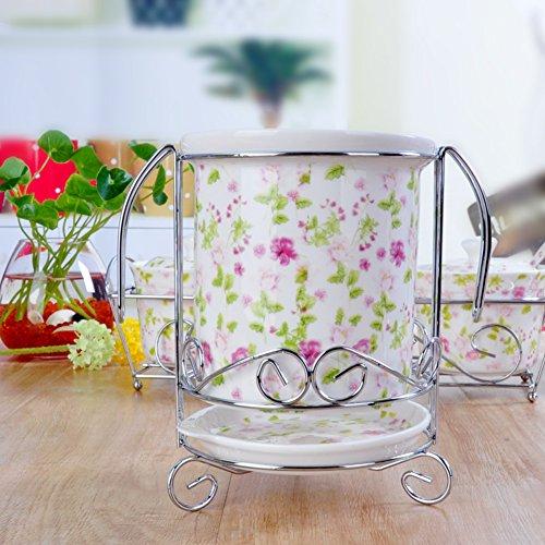 Kruiden glas verse kom eetstokjes kooi olie pot porselein servies porselein pot B